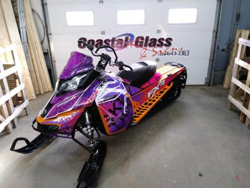 Another awesome skidoo wrap done!