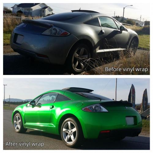 2007 Mitsubishi Eclipse: Before and After
